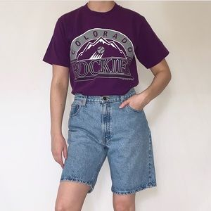 Vintage 1991 Colorado Rockies Single Stitch Shirt